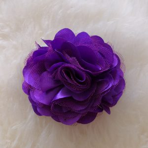 Asuste-/hiuskukka violetti